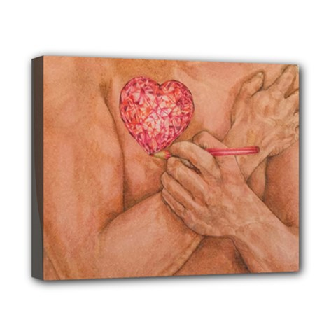 Embrace Love  Canvas 10  x 8  by KentChua