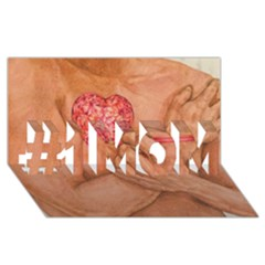 Embrace Love  #1 Mom 3d Greeting Cards (8x4)  by KentChua