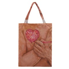 Embrace Love  Classic Tote Bags by KentChua