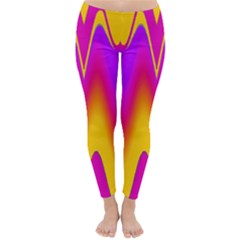 Love to the colors Winter Leggings  by pepitasart