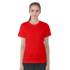 Trendy Red  Women s Cotton Tee by Costasonlineshop