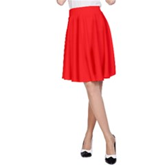Trendy Red  A Line Skirt by Costasonlineshop