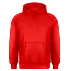 Trendy Red  Men s Pullover Hoodies by Costasonlineshop