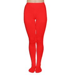 Trendy Red  Women s Tights by Costasonlineshop