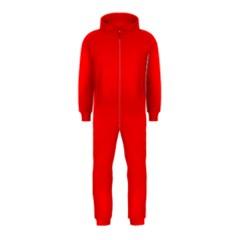 Trendy Red  Hooded Jumpsuit (kids) by Costasonlineshop