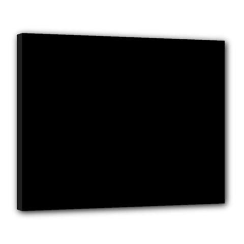 Black Gothic Canvas 20  x 16  by Costasonlineshop