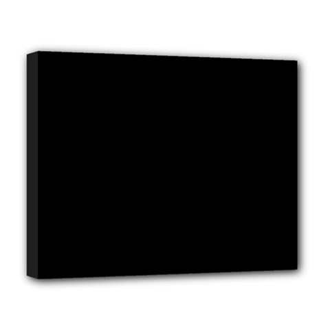 Black Gothic Deluxe Canvas 20  X 16   by Costasonlineshop