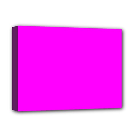 Trendy Purple  Deluxe Canvas 16  X 12   by Costasonlineshop