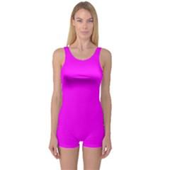 Trendy Purple  One Piece Boyleg Swimsuit by Costasonlineshop