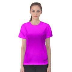 Trendy Purple  Women s Sport Mesh Tees by Costasonlineshop