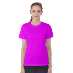 Trendy Purple  Women s Cotton Tee by Costasonlineshop