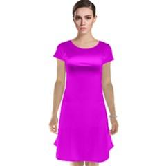 Trendy Purple  Cap Sleeve Nightdresses by Costasonlineshop