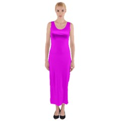 Trendy Purple  Fitted Maxi Dress by Costasonlineshop