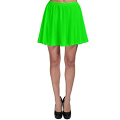 Cool Green Skater Skirt by Costasonlineshop