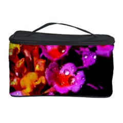 Lantanas Cosmetic Storage Cases by timelessartoncanvas