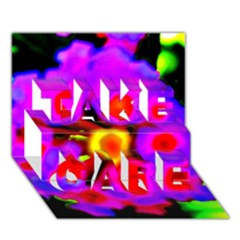 Dsc 0107222 Take Care 3d Greeting Card (7x5)  by timelessartoncanvas