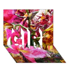 Art Studio 23216 Girl 3d Greeting Card (7x5)  by MoreColorsinLife