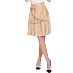 Stone Floor Marble A Line Skirt by essentialimage