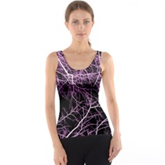 Purple Twigs Tank Top by timelessartoncanvas