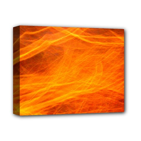Orange Wonder Deluxe Canvas 14  X 11  by timelessartoncanvas