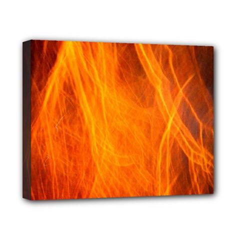 Orange Wonder 2 Canvas 10  X 8  by timelessartoncanvas