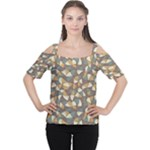 pattern - Women s Cutout Shoulder Tee