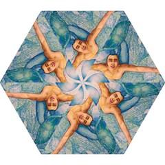 Zodiac Signs Pisces Drawing Mini Folding Umbrellas by KentChua