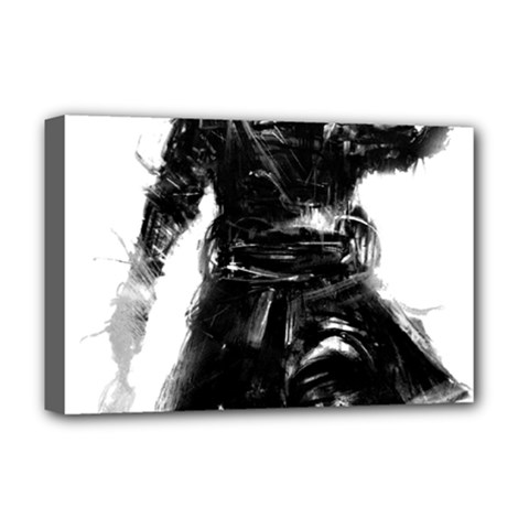Assassins Creed Black Flag Deluxe Canvas 18  x 12   by iankingart