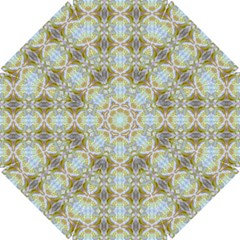 Beautiful White Yellow Rose Pattern Golf Umbrellas by Costasonlineshop