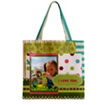 kids - Zipper Grocery Tote Bag