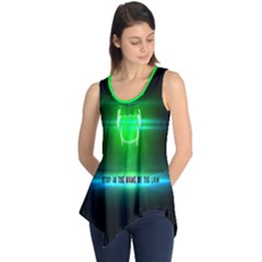 Stop In The Name Of The Law Sleeveless Tunic by RespawnLARPer