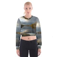 View   On The Lake Women s Cropped Sweatshirt by Costasonlineshop