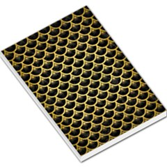 SCA3 BK MARBLE GOLD Large Memo Pads by trendistuff