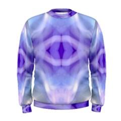 Beautiful Blue Purple Pastel Pattern, Men s Sweatshirt by Costasonlineshop