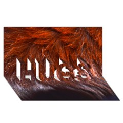 Red Hair HUGS 3D Greeting Card (8x4)  by timelessartoncanvas