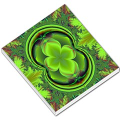 Green Clover Small Memo Pads by Delasel