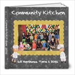 Community kitchen harkness - 8x8 Photo Book (20 pages)