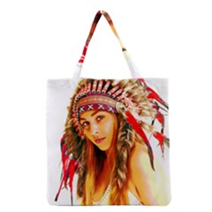 Indian 26 Grocery Tote Bag by indianwarrior