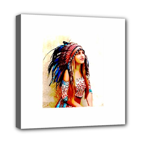Indian 22 Mini Canvas 8  X 8  by indianwarrior
