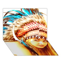 Indian 12 Circle 3d Greeting Card (7x5)  by indianwarrior