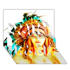 Indian 29 You Rock 3d Greeting Card (7x5)  by indianwarrior