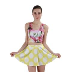 Yellow Polkadot Mini Skirts by Zandiepants