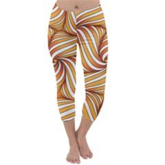 Sunny Organic Pinwheel Capri Winter Leggings