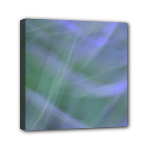 Purple Fog Mini Canvas 6  X 6  by timelessartoncanvas