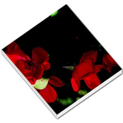 Roses 2 Small Memo Pads by timelessartoncanvas