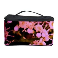 Little Mauve Flowers Cosmetic Storage Cases by timelessartoncanvas