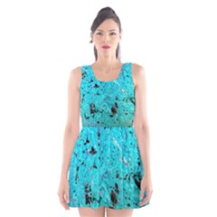 Aquamarine Collection Scoop Neck Skater Dress by bighop