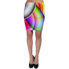 Psychedelic Design Bodycon Skirts by timelessartoncanvas