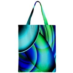 New 2 Zipper Classic Tote Bag by timelessartoncanvas