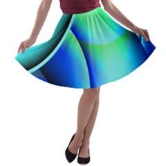 New 2 A-line Skater Skirt
